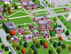 Illinois College Campus Map.Campus Map Mckendree University