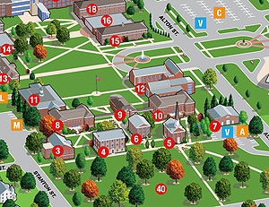 Campus Map | McKendree University