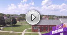 Play the McKendree University Continue Your Story Video Button