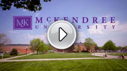 Play the McKendree University Overview Video button
