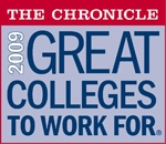 2009 Great Colleges to Work For Honor Roll Badge
