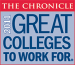 2011 Great Colleges to Work For Honor Roll Badge