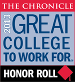 2013 Great Colleges to Work For Honor Roll Badge