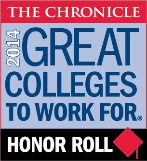 2014 Great Colleges to Work For Honor Roll Badge