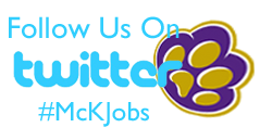 Follow us on Twitter #mckjobs