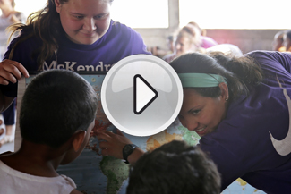 Photo of McKendree Students in Nicaragua