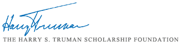 Photo of Harry S. Truman Scholarship Foundation Logo