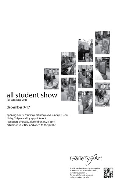 yuri poster Fall 2015 Student Show