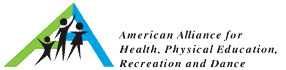 Photo of the American Alliance for Health, Physical Education, Recreation and Dance Logo
