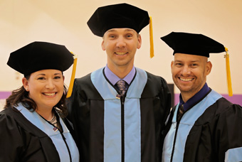 Doctorate of Education Candidates at Commencement