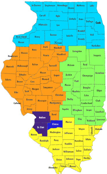 Admission Territories for Illinois Counties | McKendree University on illinois highway map, skokie illinois map, missouri counties map, illinois town map, illinois tornado path, edelstein il map, illinois route map, illinois cities, illinois basin, illinois river, illinois indiana map, illinois counties, kentucky counties map, illinois climate map, illinois township map, illinois capital, wisconsin counties map, illinois zip codes, iowa illinois map, illinois on map,