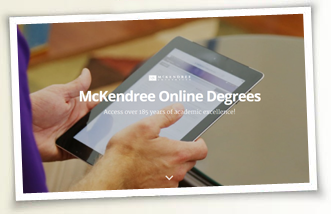 Learn more about McKendree Online!