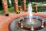 Photo of the McKendree University Entryway Monument