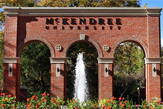 McKendree University Entryway Monument