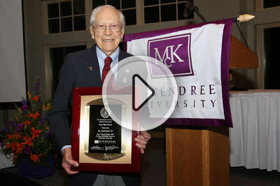 Dr. Cyril Curtis '43: Peter Akers Award Recipient