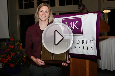 Danna Gilbert '00: Sports Hall of Fame Inductee