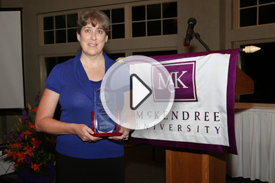 Melody (Edwards) Evans '86: Academy of Excellence Inductee