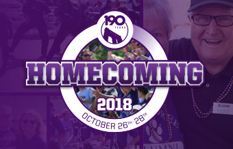 2018 Homecoming Weekend Oct. 26-28th