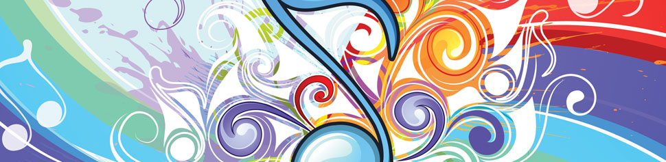 Music Notes Web Banner