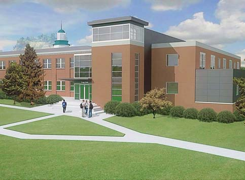 New Science Center Rendering