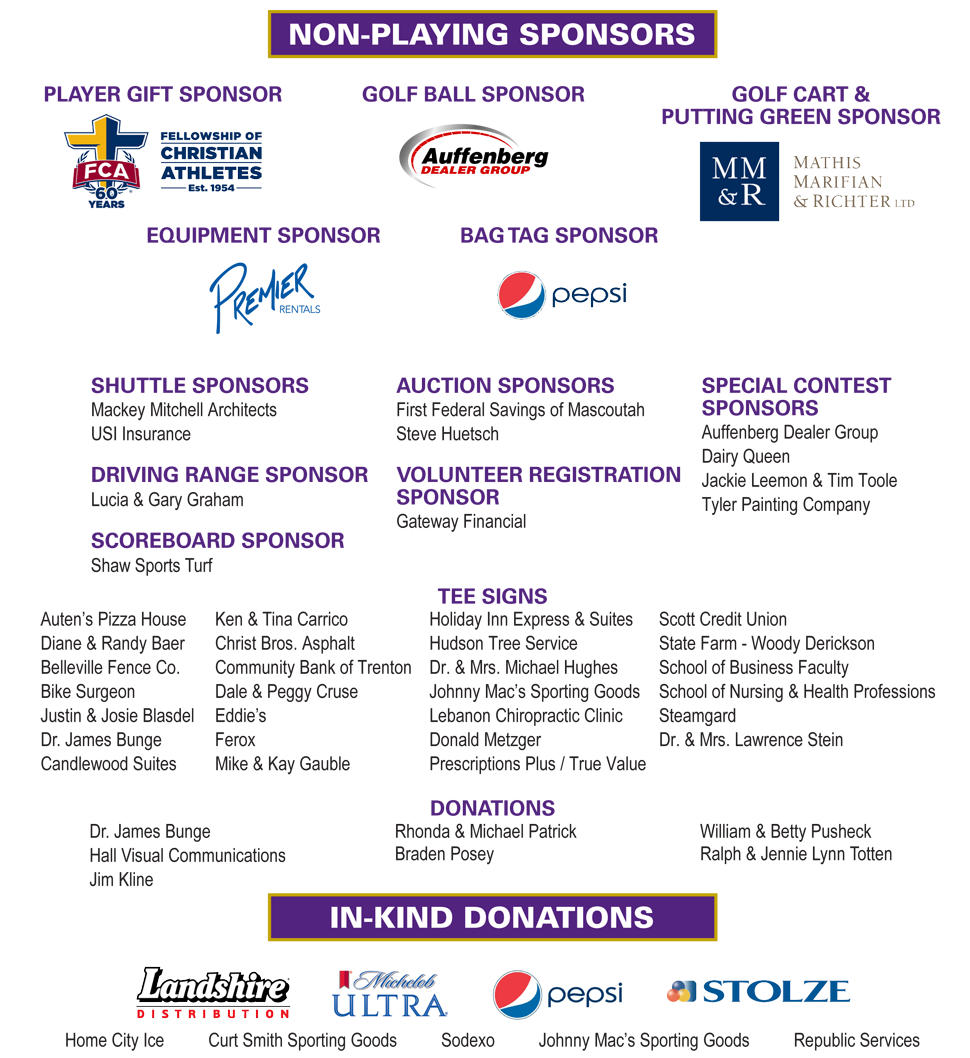 Sponsors Page 2