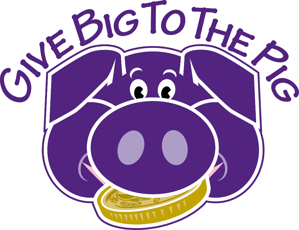 Give Big to Pig Graphic