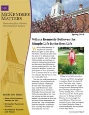 McKendree Matters Newsletter Srping 2014