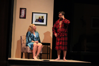 Photo of Spencer Marcum and Chloe Thies in Spring Play