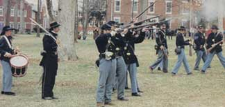 Photo of a CIvil War Reenactment
