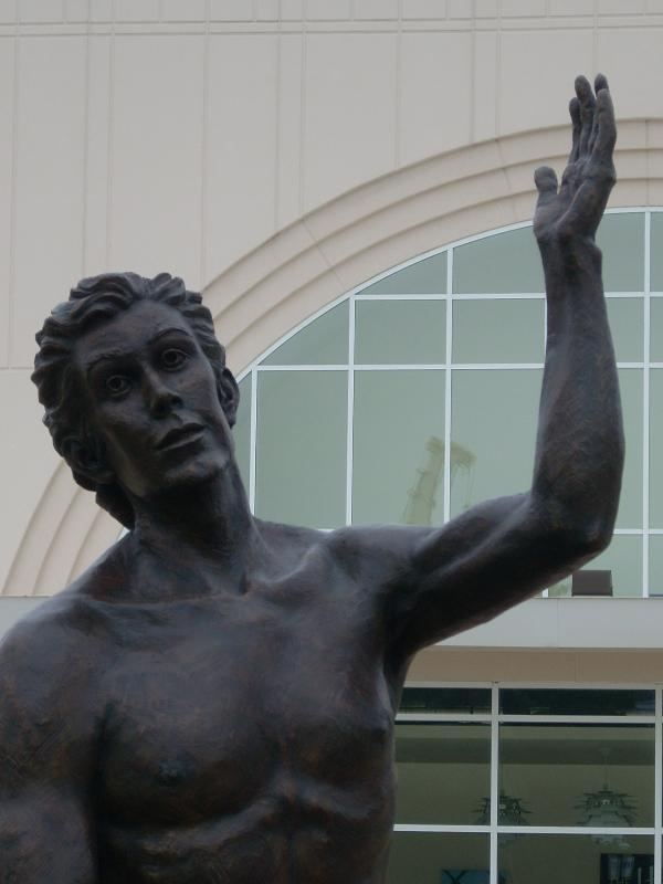 Photo of the Insiration Statue