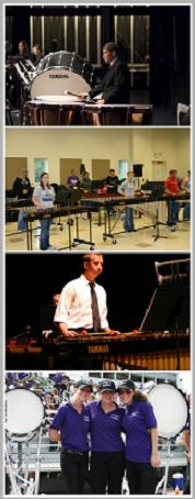 Photo of Percussion Students
