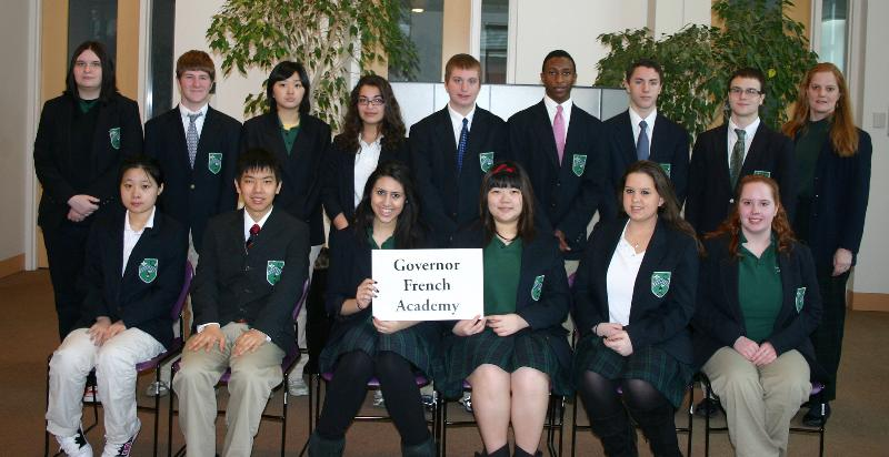 Photo of Governor French Academy 2011