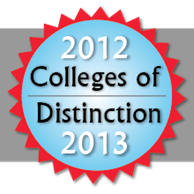 Colleges of Disctinction 2012-2013 Logo