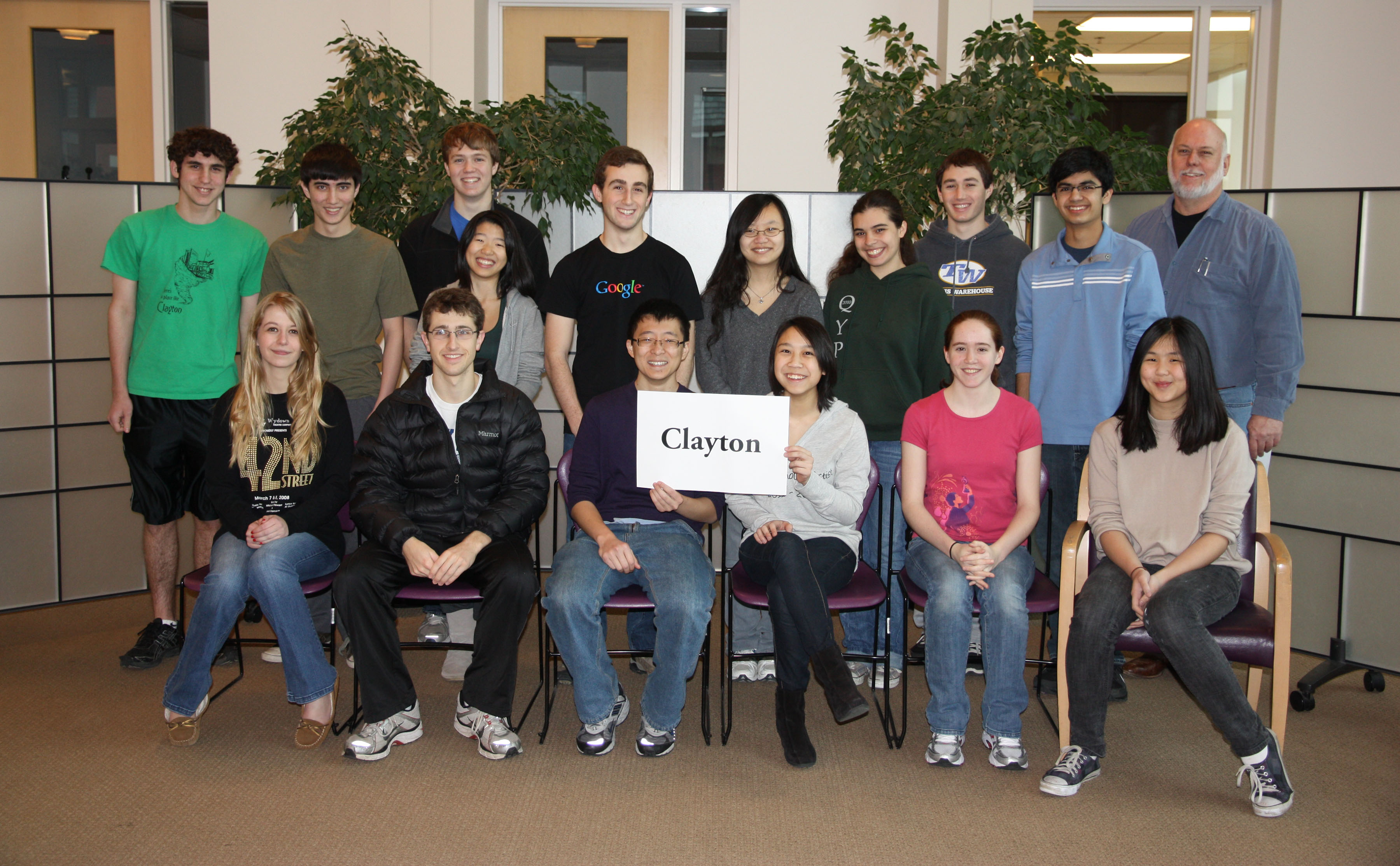 Photo of Clayton High School Varsity 2012