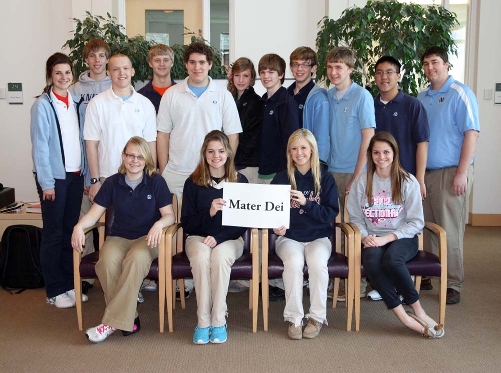 WYSE Mater Dei 2012