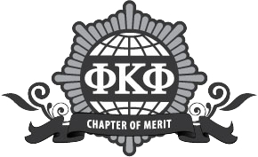Phi Kappa Phi Chapter of Merit logo