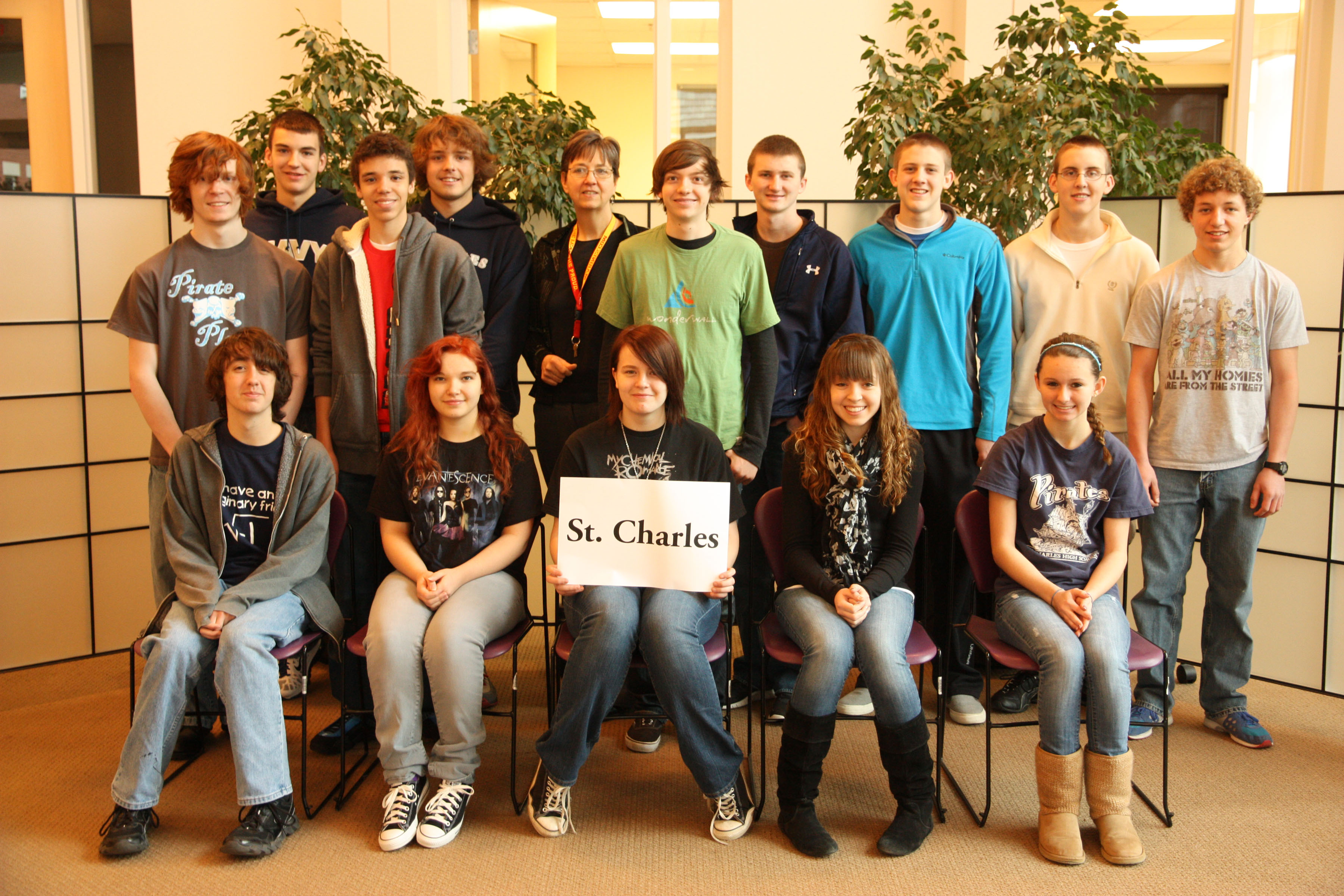 Photo of St. Charles High School Junior Varsity 2012