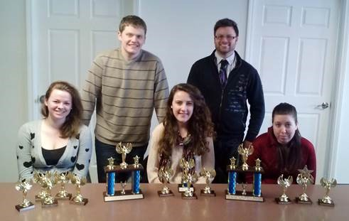 Photo of the Speech Team at Murray State