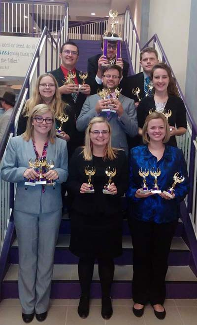 Photo of the Speech Team