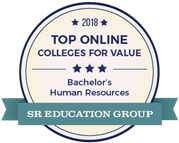 Top Online Colleges for Value - Bachelor's Human Resources