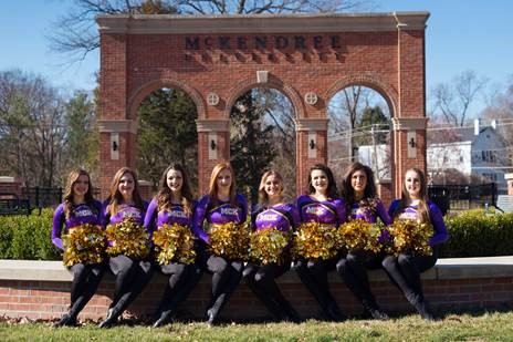 McKendree University Dance Team