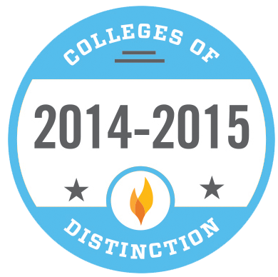 Photo of the College of Distinction Badge