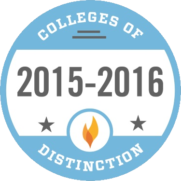 Photo of Colleges of Distinction 2015-2016 Badge