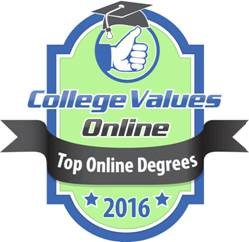 Top Online Degrees Badge