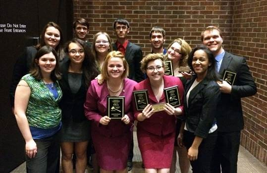 Photo of McKendree Speech & Debate Team
