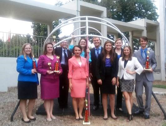 Speech Team Bringing Home Trophies from the Western Kentucky Tournament