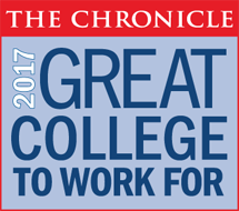 Great Colleges to Work For 2017 Badge