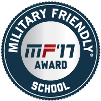 Military Friendly School 2017 Badge