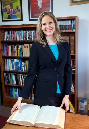 Photo of Dr. Nichole DeWall