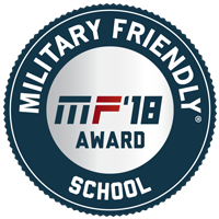 2018 Military Friendly Badge